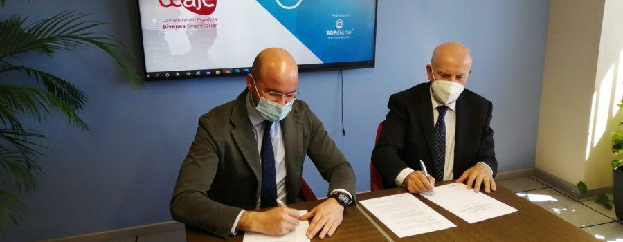 CEAJE y TDconsulting firman un acuerdo de colaboración