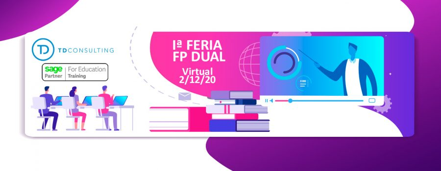 Imagen vectorial feria FP Dual