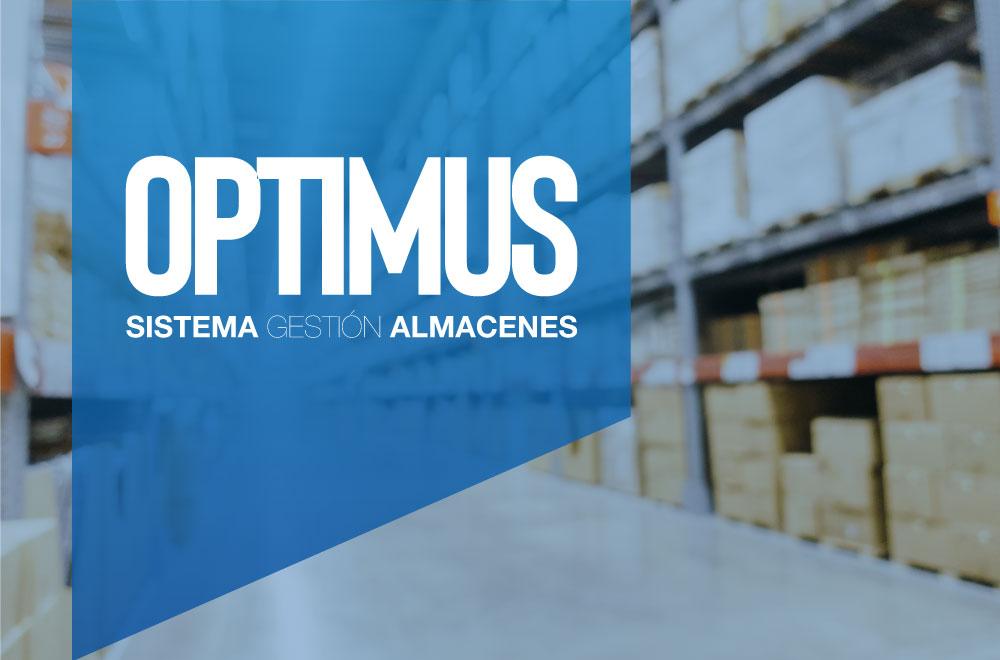 portada optimus sistema de gestión de almacenes