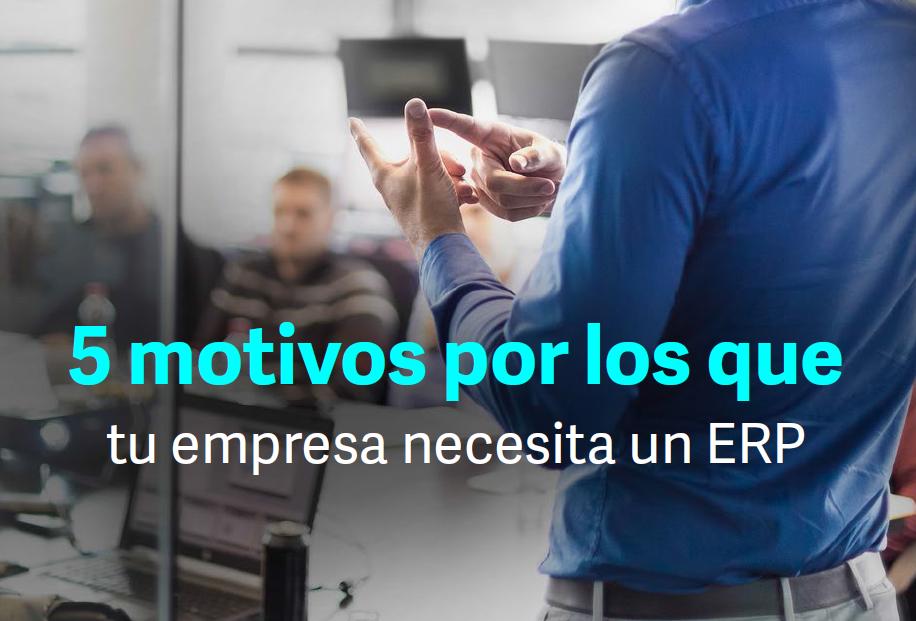 Motivos por los que tu empresa necesita un ERP